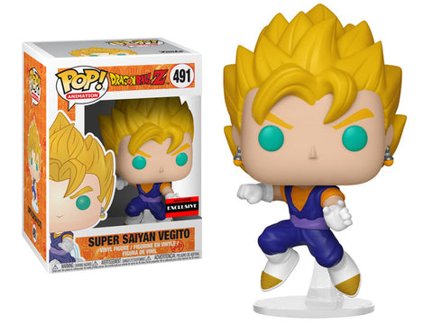 Vegito dragon ball z exclusive funko pop