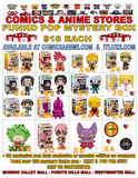 exclusive Funko pop Mystery box $18 each rebooted August 17th