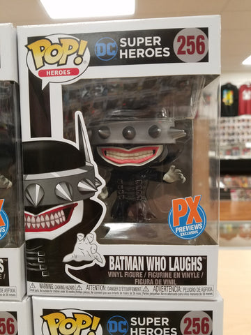 Batman who laughs px exclusive funko pop