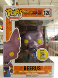 Beerus dragon ball Z resurrection F comic con exclusive funko pop #120