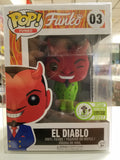 EL Diablo emerald city comic con limited edition funko pop