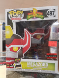 Megazord exclusive funko pop 6 inch