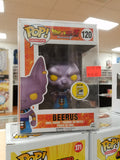 Beerus sdcc funko pop exclusive