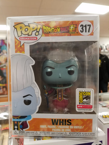 WHIS comic con sdcc exclusive funko pop dragon ball z
