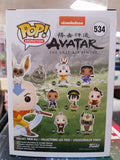 Avatar Aang with Momo #534 last airbender animation funko pop