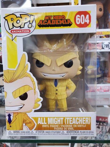 ALL MIGHT (TEACHER) MY HERO ACADEMIA #604 ANIME FUNKO POP