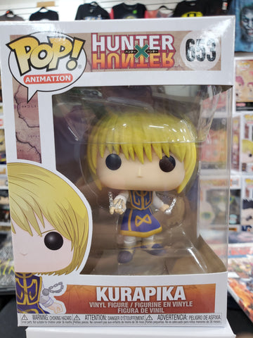 KURAPIKA HUNTER HUNTER #653 ANIME FUNKO POP
