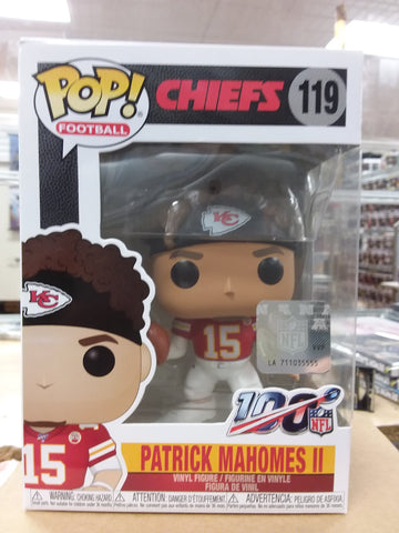 Patrick Mahomes ii Kansas Chiefs NFL football #119