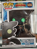 TOOTHLESS DRAGON #686 FUNKO POP