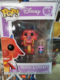 MUSHU & CRICKET DISNEY Mulan #167 FUNKO POP