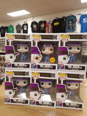 The joker batman 1989 funko pop