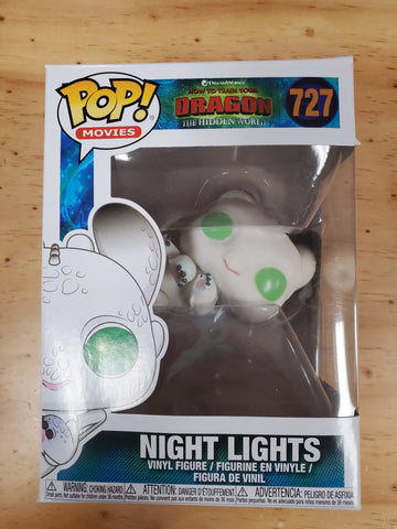 NIGHT LIGHTS HOW TO TRAIN YOUR DRAGON #727