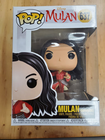 MULAN Disney #637 FUNKO POP