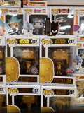 Princess Leia star wars special edition funko pop gold