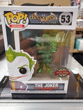 THE JOKER Batman Arkham Asylum #53 Chrome Green Special Edition Funko Pop