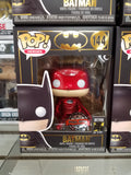 Batman chrome red metallic special edition dc heroes #144 funko pop