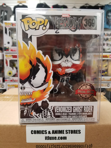 Venomized Ghost Rider Venom Marvel #369 funko pop special edition