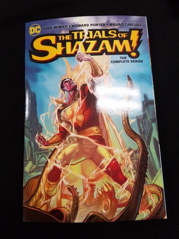 The trials of Shazam the complete series
