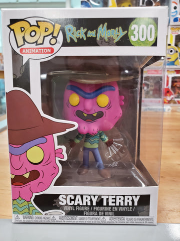 SCARY TERRY RICK AND MORRY FUNKO POP #300