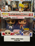 Captain Marvel vs chun li dual pack marvel vs capcom exclusive funko pop