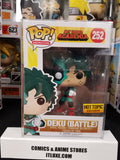 Deku battle damaged my hera academia mha #252 animation exclusive funko pop