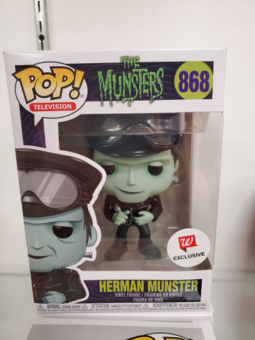 HERMAN MUNSTER THE MUNSTERS EXCLUSIVE POP 868