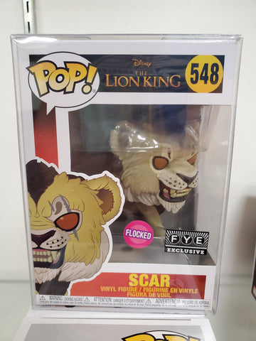 SCAR (FLOCKED) THE LION KING EXCLUSIVE POP 548
