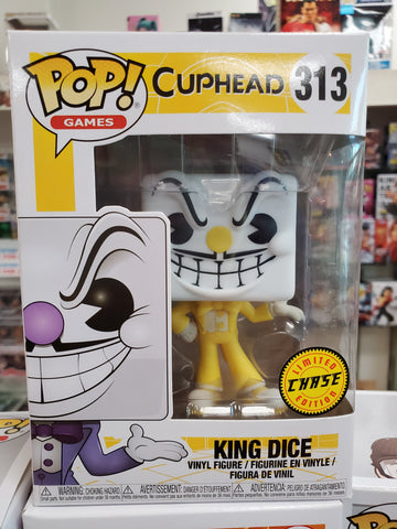 King Dice CHASE CUPHEAD EXCLUSIVE FUNKO POP 313