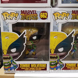 Marvel zombies wolverine #662 funko pop