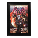 attack on titan picture frame