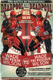 deadpool chumpion poster 22x34 RP14731