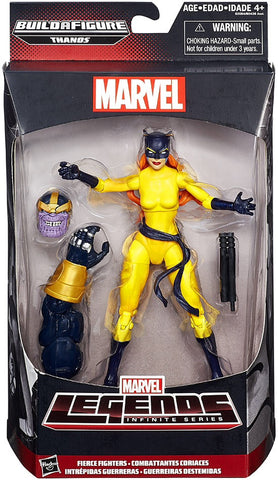 Hellcat Marvel Legends  Thanos BAF