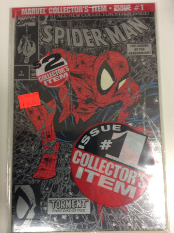Spider-Man #1 collector issue silver