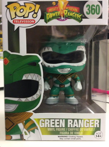 Green ranger power rangers pop #360