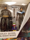 Robin Harley quinn batman and nightwing figures set