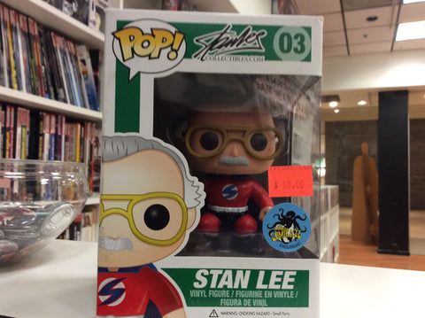 Stan Lee funko pop comikazee