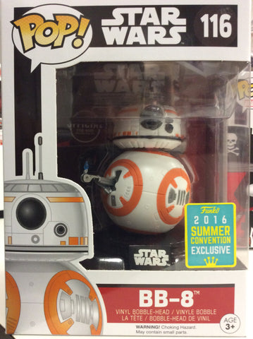 Bb8 Star Wars exclusive summer convention pop # 116