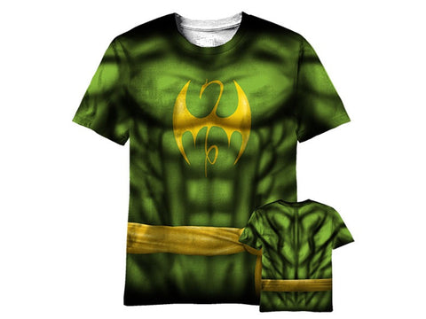 Iron fist sublimated tshirt