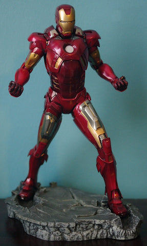 Iron Man mark 7 statue kotobukiya