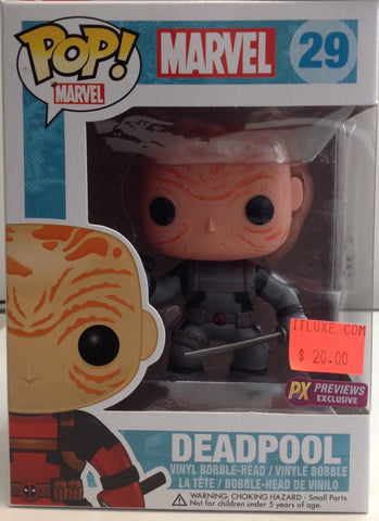 No mask Dead Pool Funko Pop