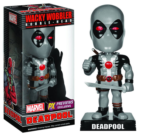 Deadpool xforce grey Funko wacky wobbler