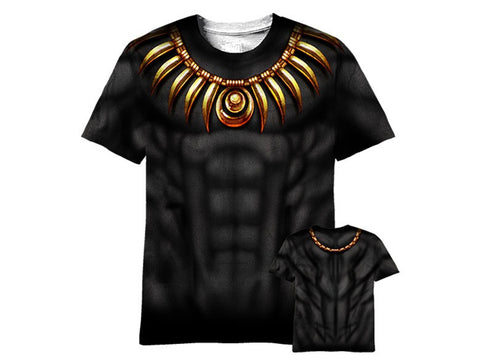 black Panther sublimated tshirt