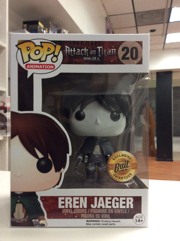 Eren Jeagger Attack on Titan exclusive Pop