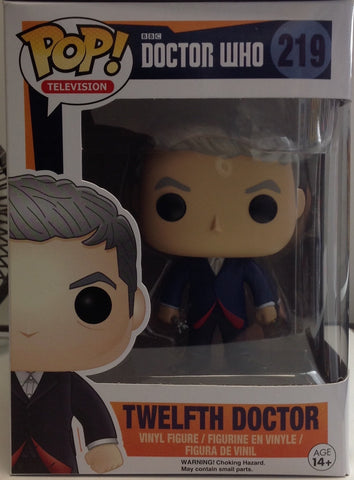 Twelfth Doctor Funko pop