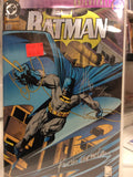 Batman comics #500 signed by Joe Quesada and Kevin Nowland with certificate