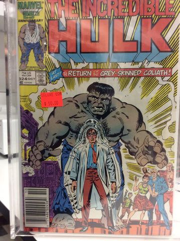 The Incredible Hulk comics # 324 Grey Hulk