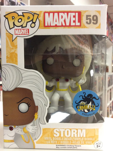 Storm comikaze exclusive pop marvel # 59