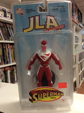 Red Superman 6 inch JLA classified