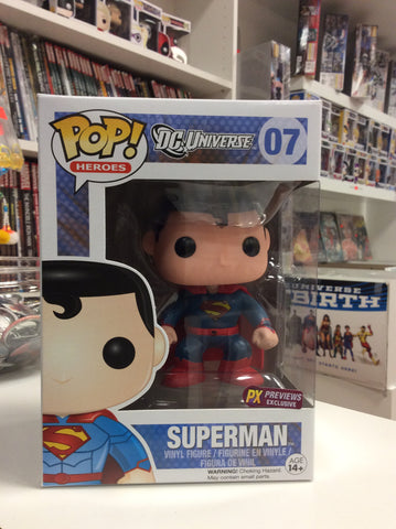 Superman px exclusive pop