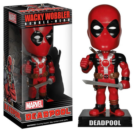 Deadpool Funko wacky wobbler